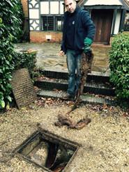 drain repair crowborough