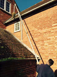 gutter cleaning winchester